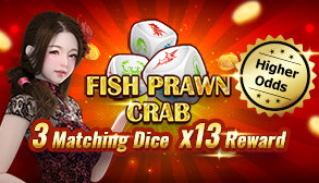 Fish Prawn Crab